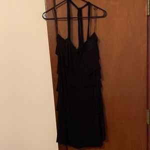 Guess Tiered Halter Dress